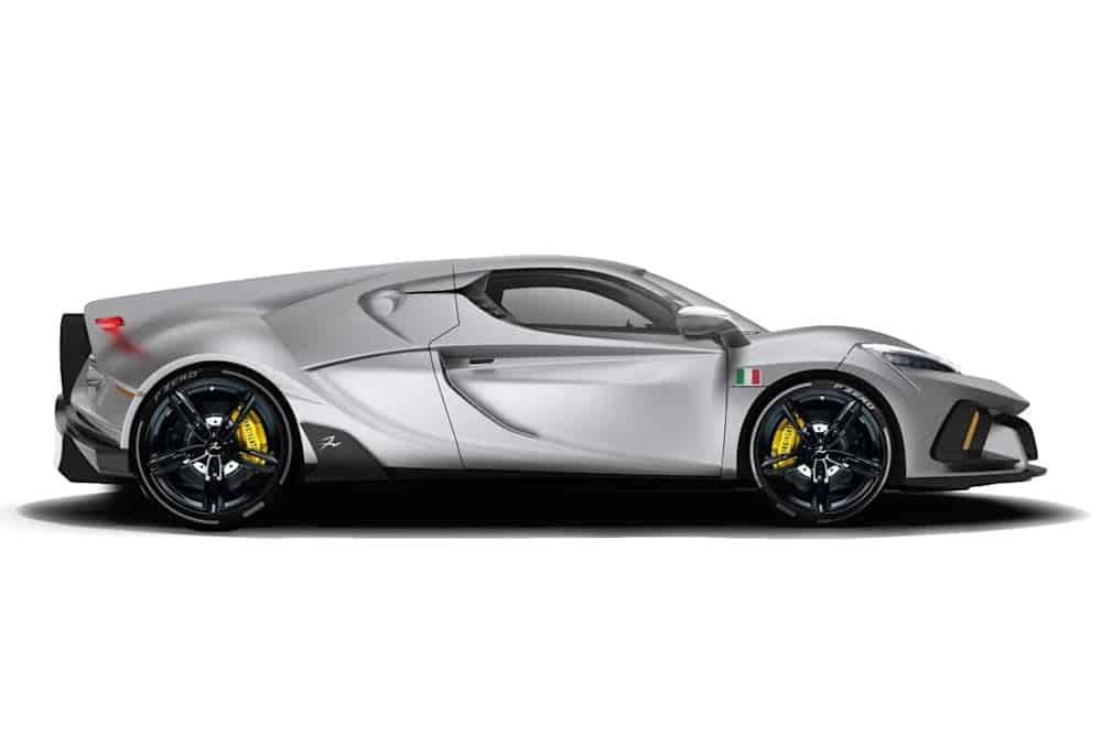 Mit Carbon-Chassis wiegt der Sorpasso nur insgesamt 1,3 Tonnen