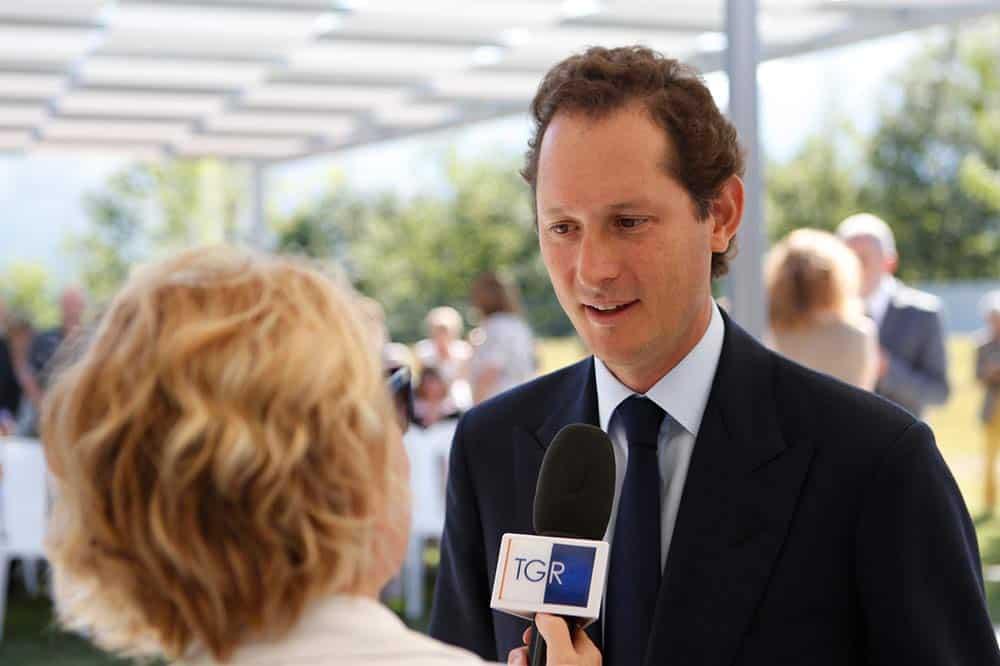 John Elkann ist Aufsichtsratschef des Autokonzerns Stellantis und Ferrari. Seit Juli 2018 ist er Präsident von Ferrari.