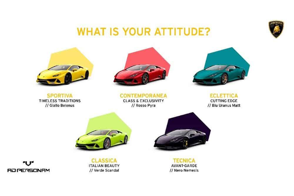 Das sind die Lieblingsfarben der Lamborghini-Kunden