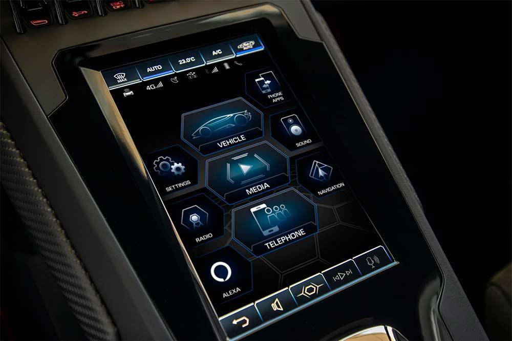 Lamborghini integriert die Huracan Fahrzeugsteuerung mit Alexa