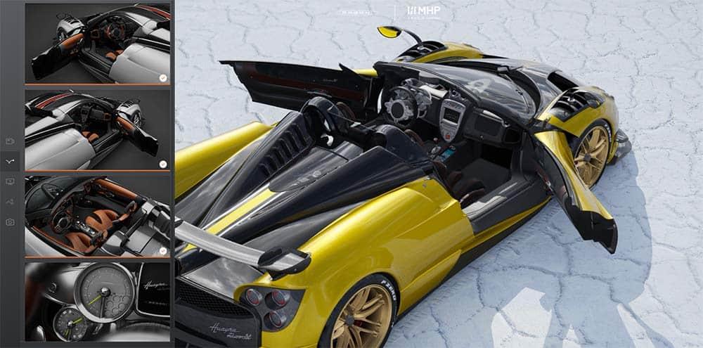 Mit einem Klick wird aus der geschlossenen Variante ein Roadster
